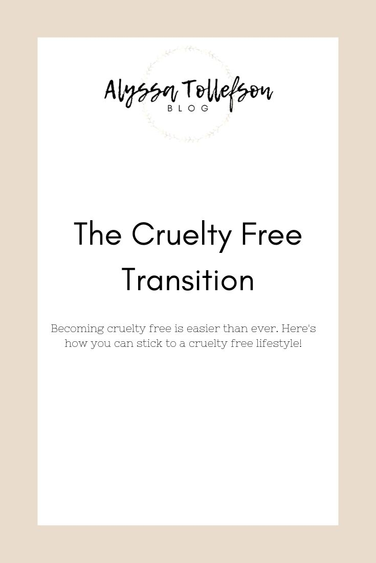 the cruelty free transition