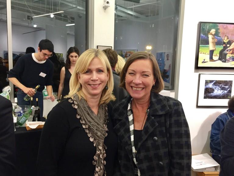 Carol Moore, '16-'19, and Susi Cora, '16-'18