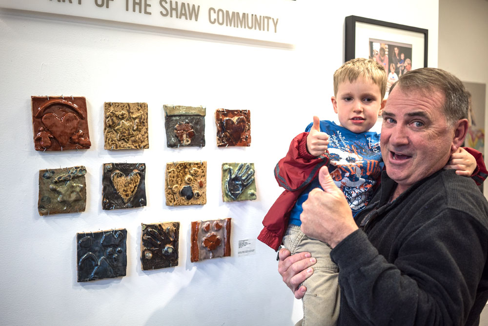 David Beers, Touchstone Gallery Artist Member, Teacher for Ceramic Workshop at New Community ArtSpace DC.