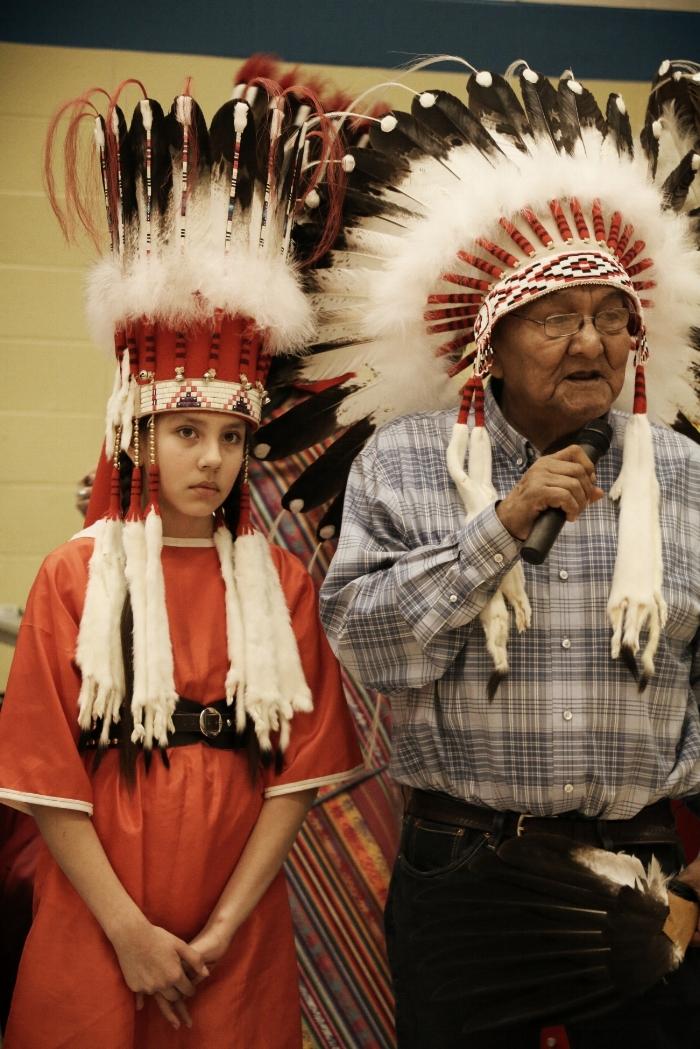 Blackfoot Headdress and Suiox headdress