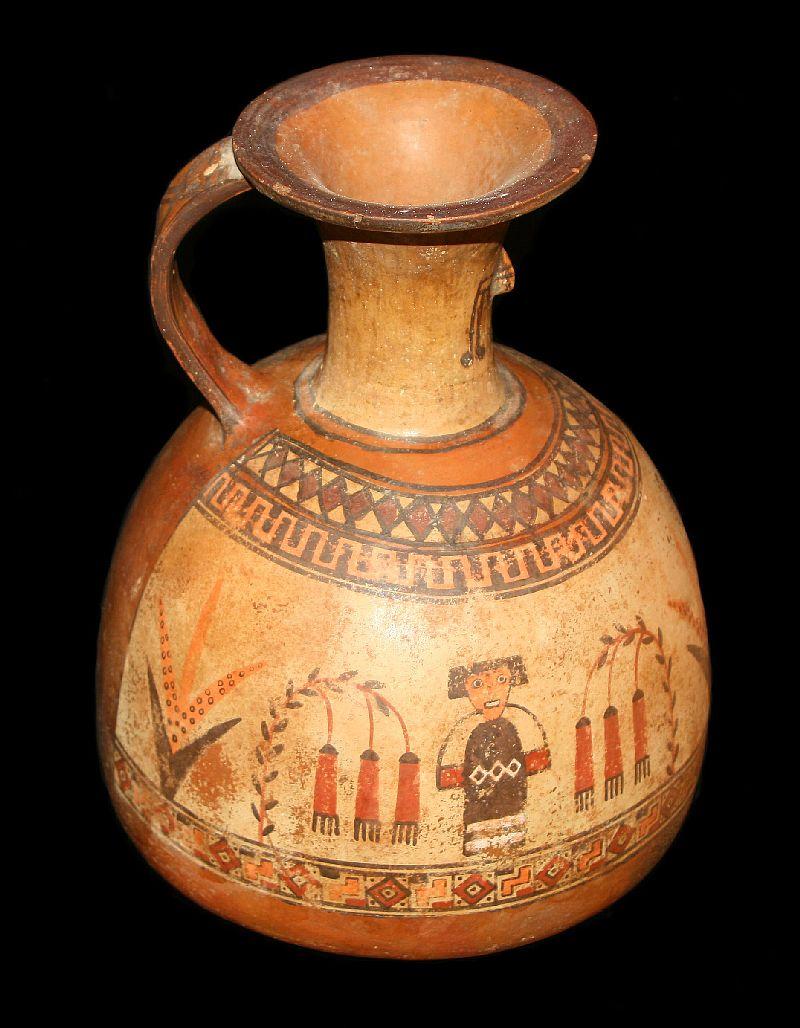 Inca Jug, ca. 1400 AD - 1530 AD, from Peru.