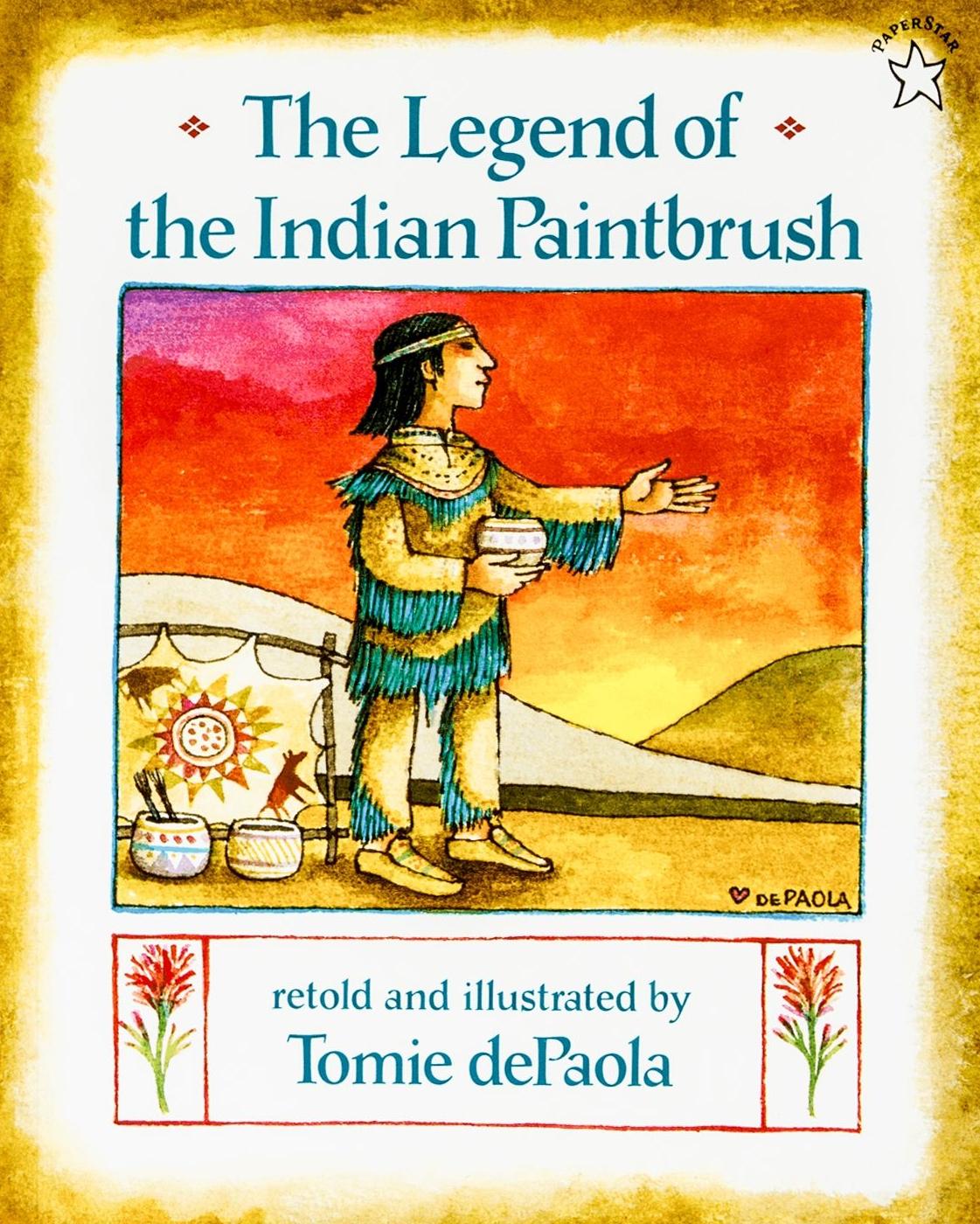 Legend of the Indian Paintbrush.Jpg
