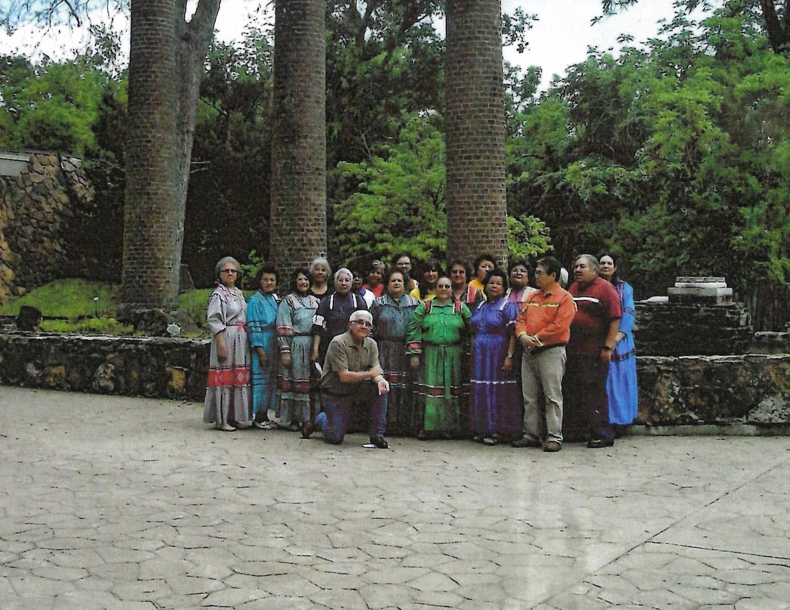 Cherokee Indian Baptist Choir