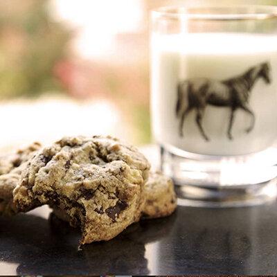 Dark Chocolate Chunk Cookies -