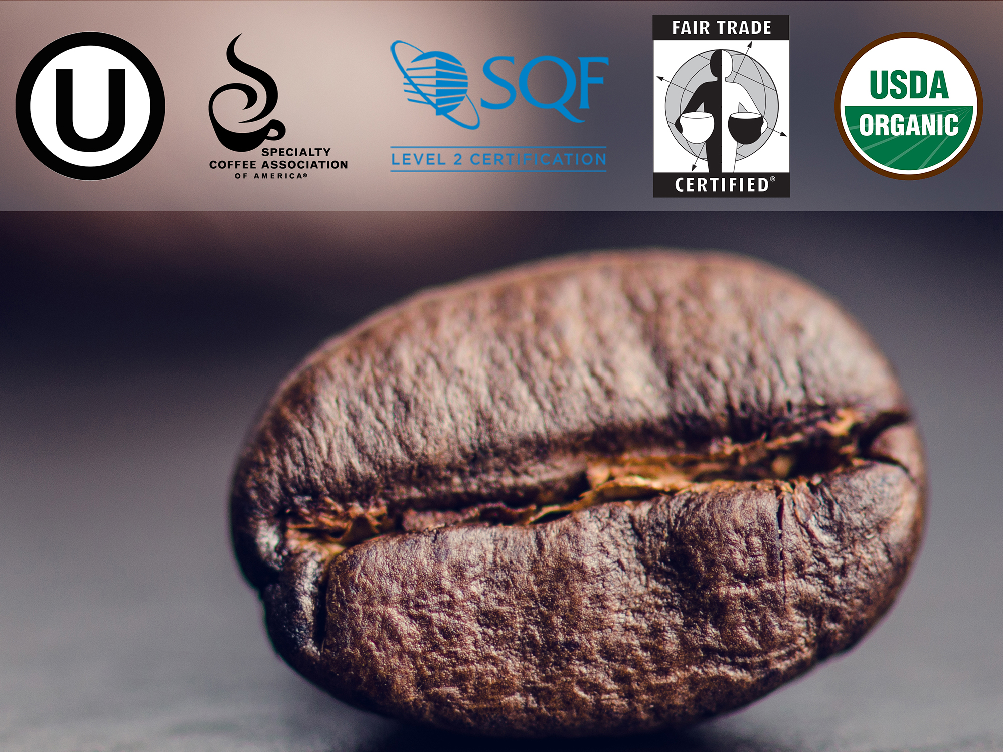 Certifications - Copper Moon is a Safe Quality Food Level 2 Supplier. We undergo a rigorous annual audit whereby we comply with a long list of regulatory initiatives. We have consistently achieved high ratings year over year.In addition to our quality food certifications, we offer these additional certifications on all or some of our coffees, as shown above.