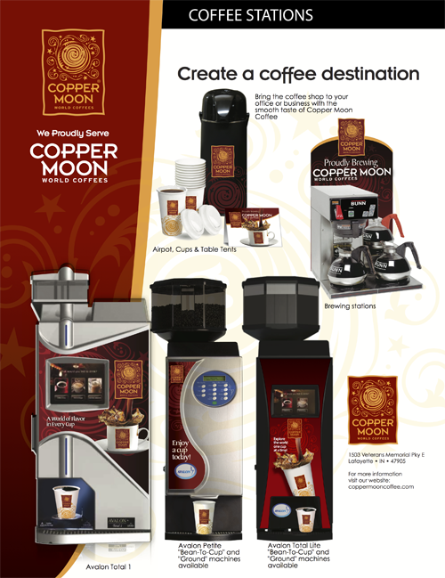 Copper Moon Coffee Stations