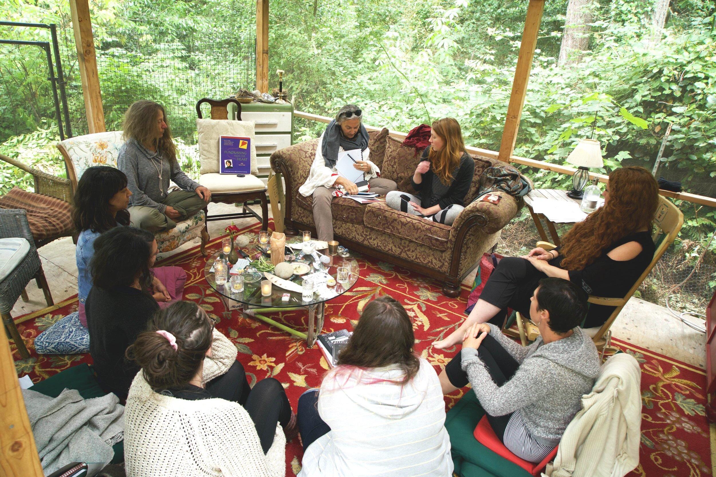 TEEN TALKING CIRCLES FACILITATOR TRAINING 2018