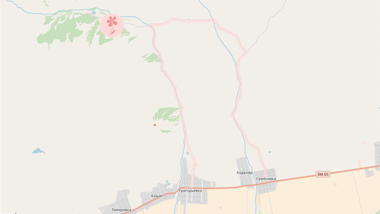 Chon-Aksuu Gorge
