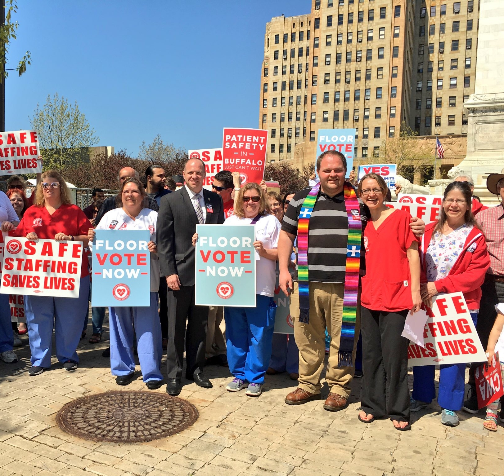 - Tim was inspired to become an occupational therapist after watching his mom work for years as a nurse at Buffalo General, Mercy, and Millard Fillmore Hospitals. Throughout his career, he has focused his efforts on strengthening protections for healthcare workers. He is a cosponsor of a bill to enact Safe Staffing ratios, which would ensure that nurses are able to do their jobs effectively and patients receive the quality care they deserve.