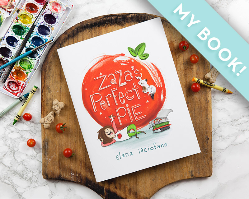 Meet Zaza - a girl so in love with pizza that she wants to make the perfect pie! - It's a story, activity and cookbook all in one!