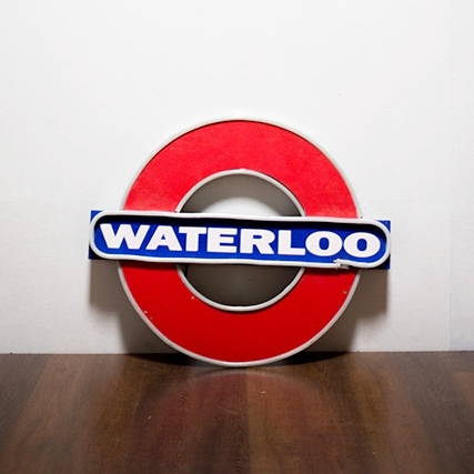 Waterloo Neon Sign