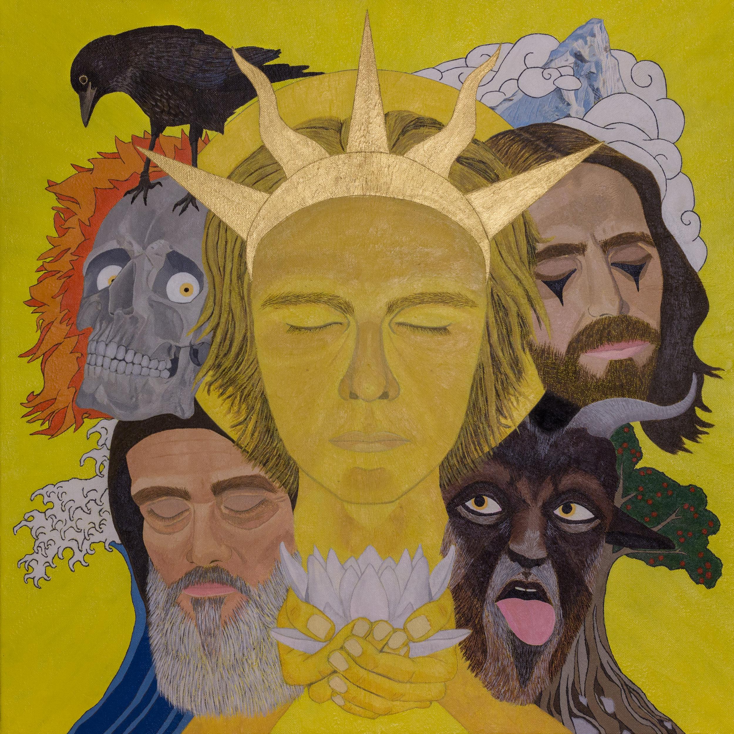 cover art by  Joshua Tarantino