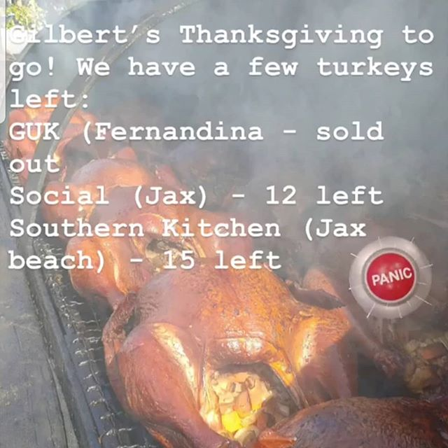 Order your entire dinner today!! Forget the hassle and stress of planning and let us do it for you! Smoked Turkey with all the yummy traditional sides! #thanksgiving2018 #smokedturkey #familytime #jacksonvillebeach #jaxbeach #atlanticbeach #neptunebeach