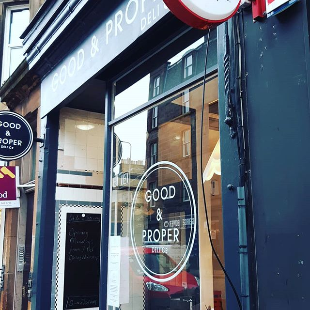 Not sure where to get a Good and Proper coffee? Now we are open on Mondays!  #iamgoodandproper #stockbridge #local #independantcoffee #coffee #edinburgh #cake #food #goodandproper