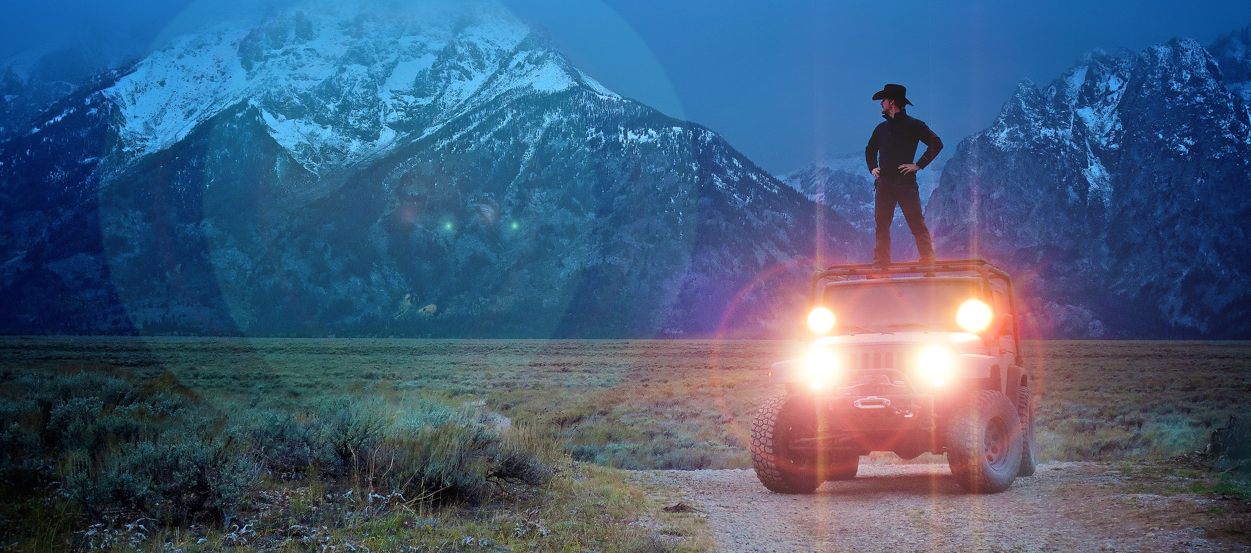 Founder, Dan Smarg the summer he conceived of FotoGenie while flyfishing in the Grand Tetons, Wyoming.