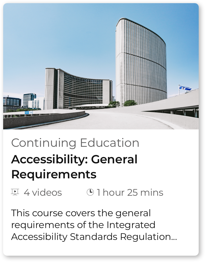 course card - accessibility