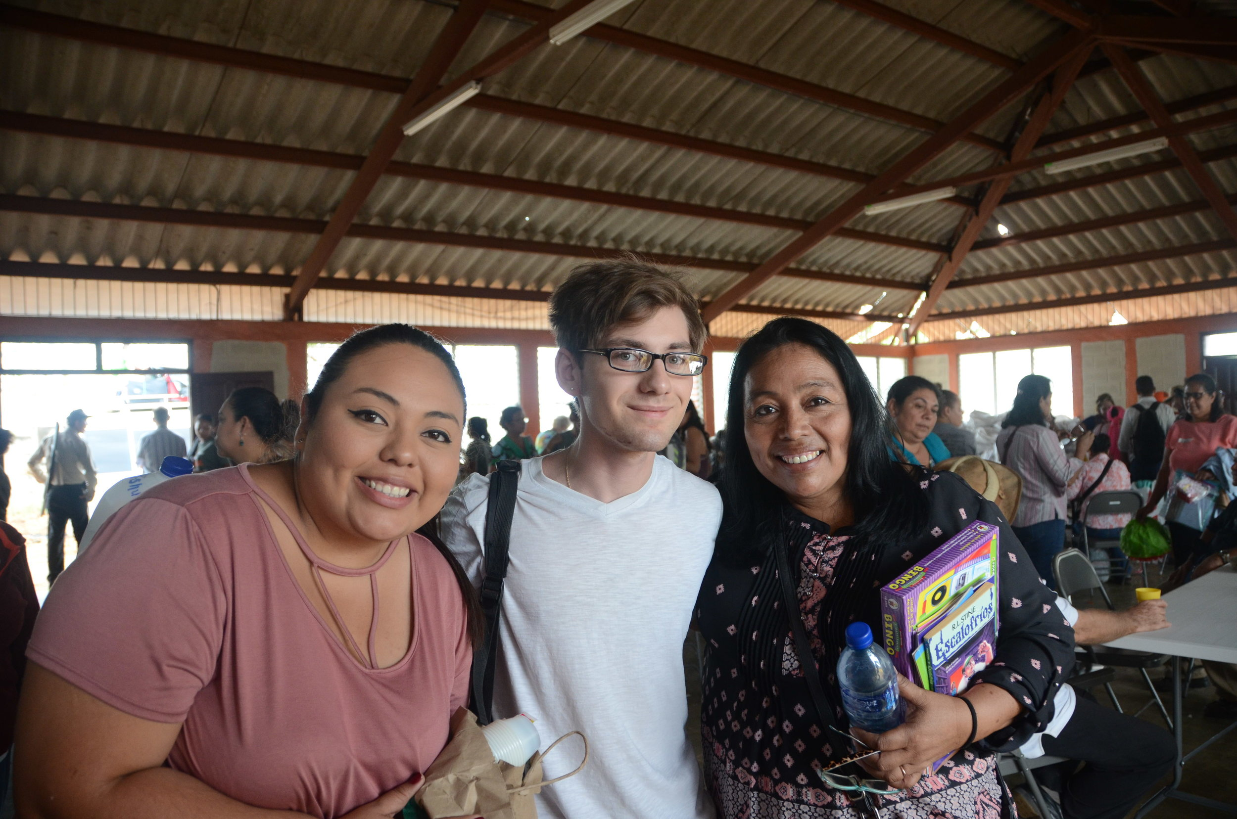 Pictured here are Rosa and Karen, along with Abishua. They have been to our house and we love being at their house. Rosa is the one who is in charge of this learning center, who I am so proud of!