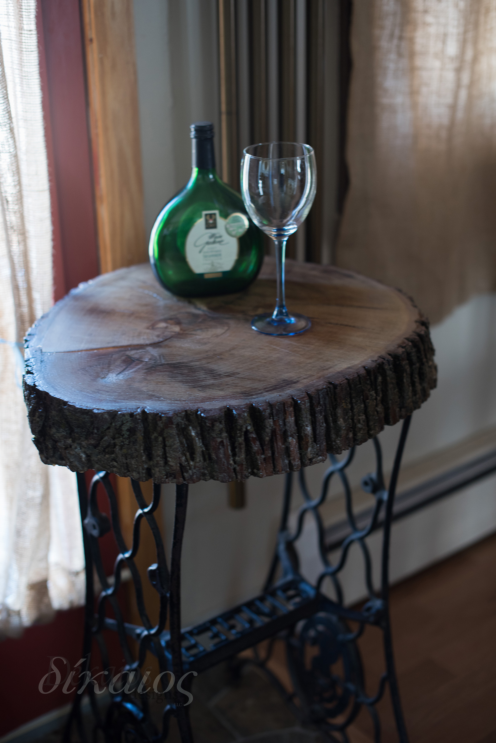 This table is one of my more recent projects. It's for sale at my booth at Antique Up.