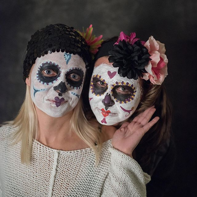 Day of the dead. That's today. Remembering the loved ones that have gone before us.