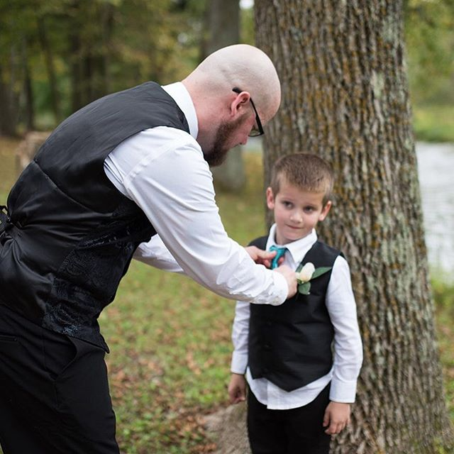 This moment definitely needs to happen again when this sweet boy gets married and these photos will have to be displayed side by side! I hope to be the photographer that do so I can make sure it does. #FatherSon