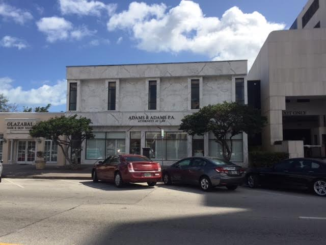 540 Biltmore Way - Completely unique boutique office building – tons of natural light, great on-site covered parking and a location that commands attention.  Worked with Sellers to find the right buyer – a financial institution that values all attributes of the property and will make it their Coral Gables flagship location.