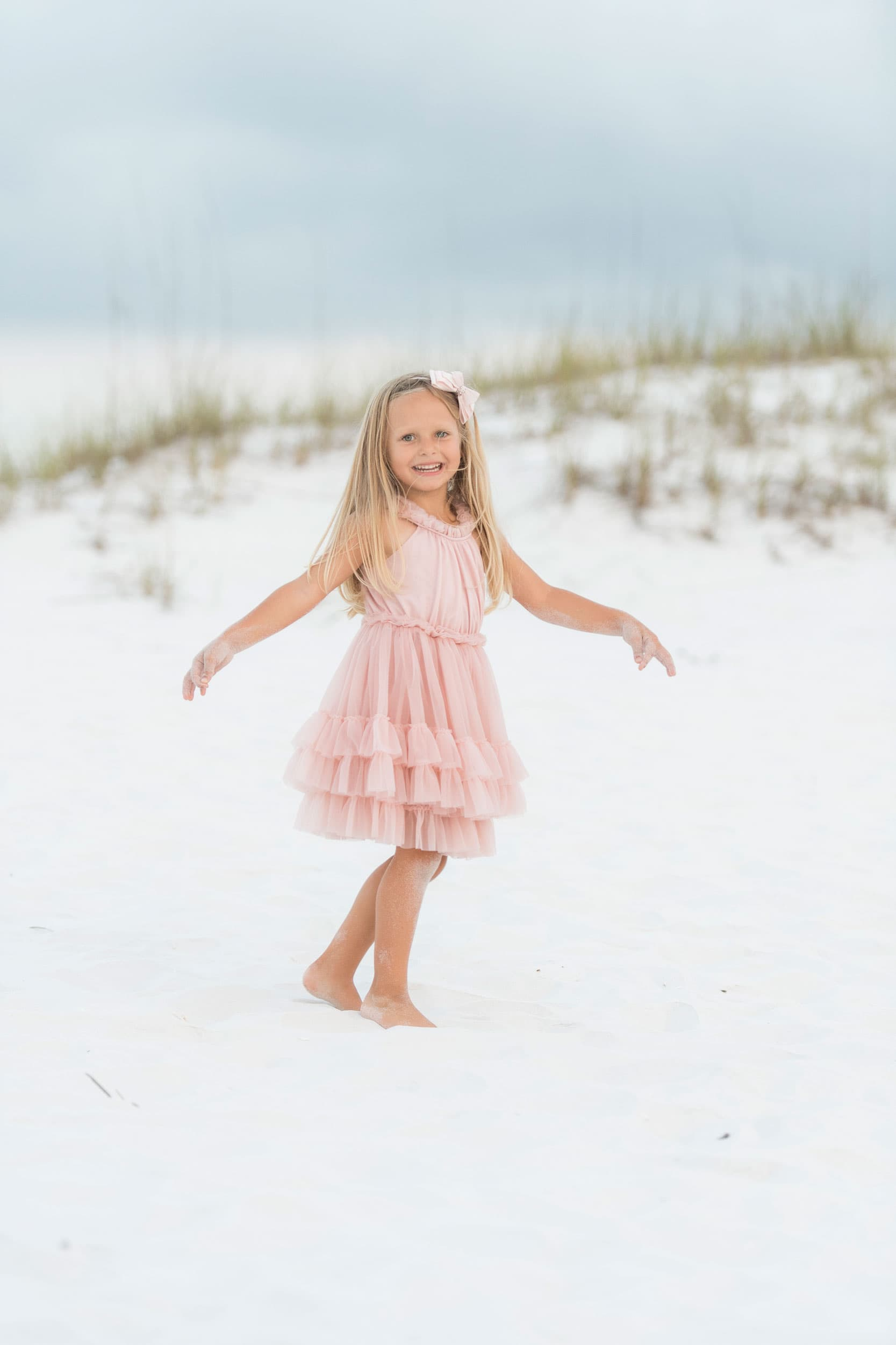 destin photographer captures watercolor beach vacation pictures