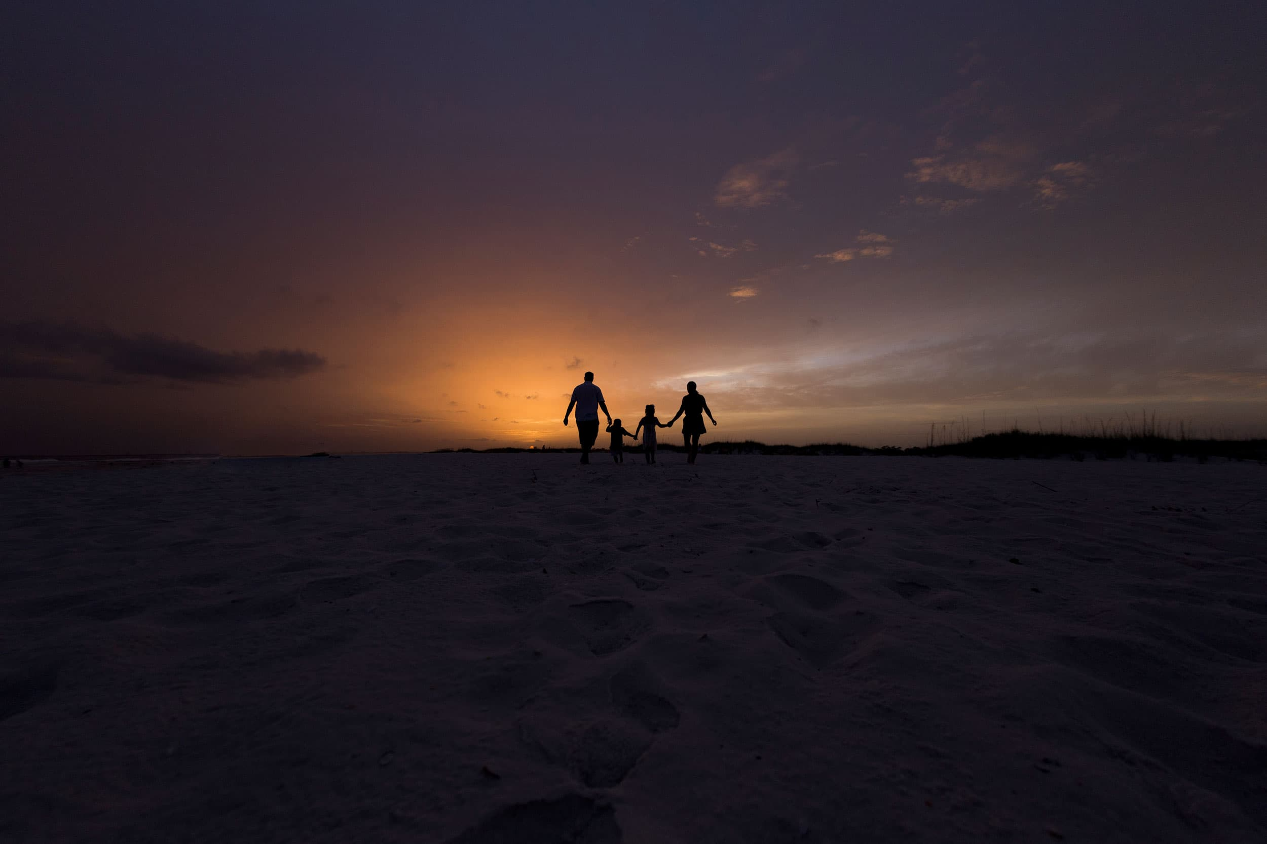 Gulf Shores Alabama beach photographer captures sunset