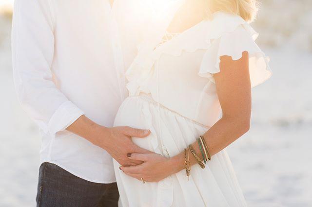 Cutest pregnant mama ever, gorgeous dress choice, a flower crown, and light that helps create magic!!! . . . . . #maternity #maternityphotography #wavephotobyaislinnkate #beachphotography