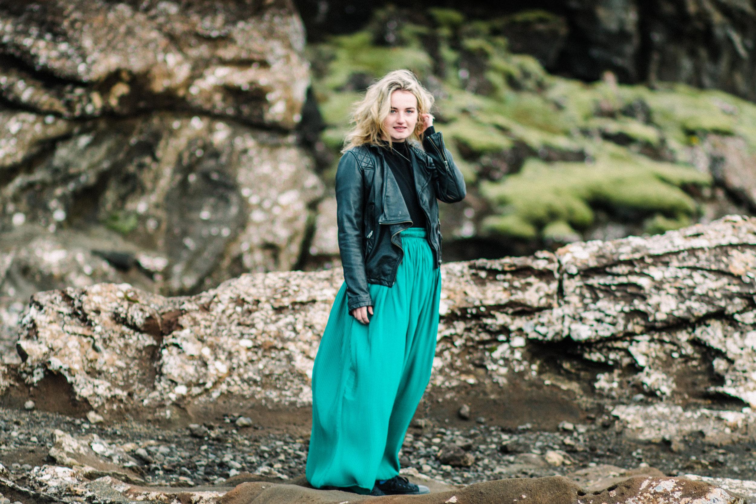 Portrait photography Iceland