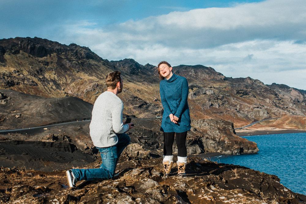 Iceland Surprise Engagement