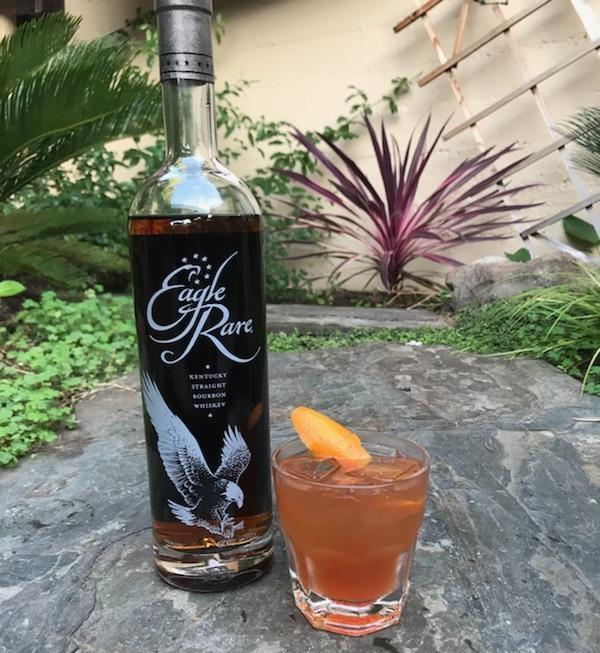 The rare Sazerac  Eagle Rare, Peychaud's bitters, Angostura bitters, sugar and absinthe  $8