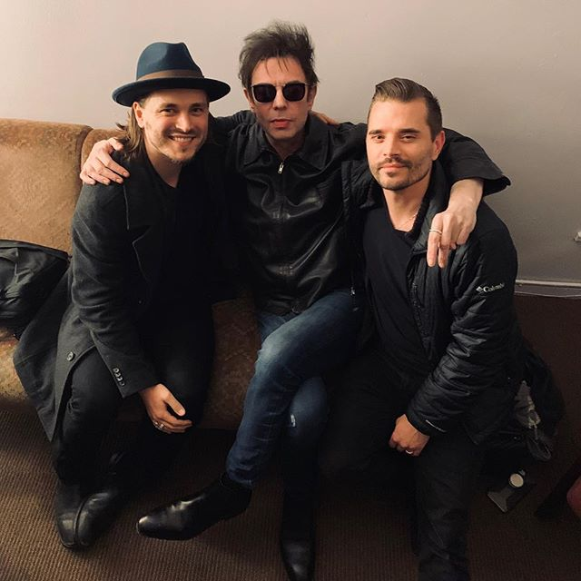 Finished an incredible North American tour with Echo And The @OfficialBunnymen. We continue to be inspired by their groundbreaking music and the unparalleled poetry of Ian McCulloch! Thanks to everyone who came to the shows! ⠀ . ⠀ . ⠀ . ⠀ . ⠀ #ENATION #Bunnymen #EchoAndTheBunnymen #Tour #Alternative #New Wave #PostPunk