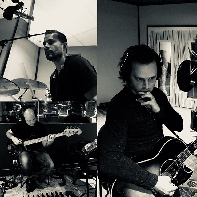 Collage from the studio. We've been working on our new album since the end of 2017, and it's been an amazing experience. ⠀ ⠀ Our new album is called Ultraviolet Empire - and it will be released this year. We're excited to reveal more soon! ⠀ .⠀ ⠀ .⠀ ⠀ .⠀ #ENATION #UltravioletEmpire #NewAlbum #NewMusic