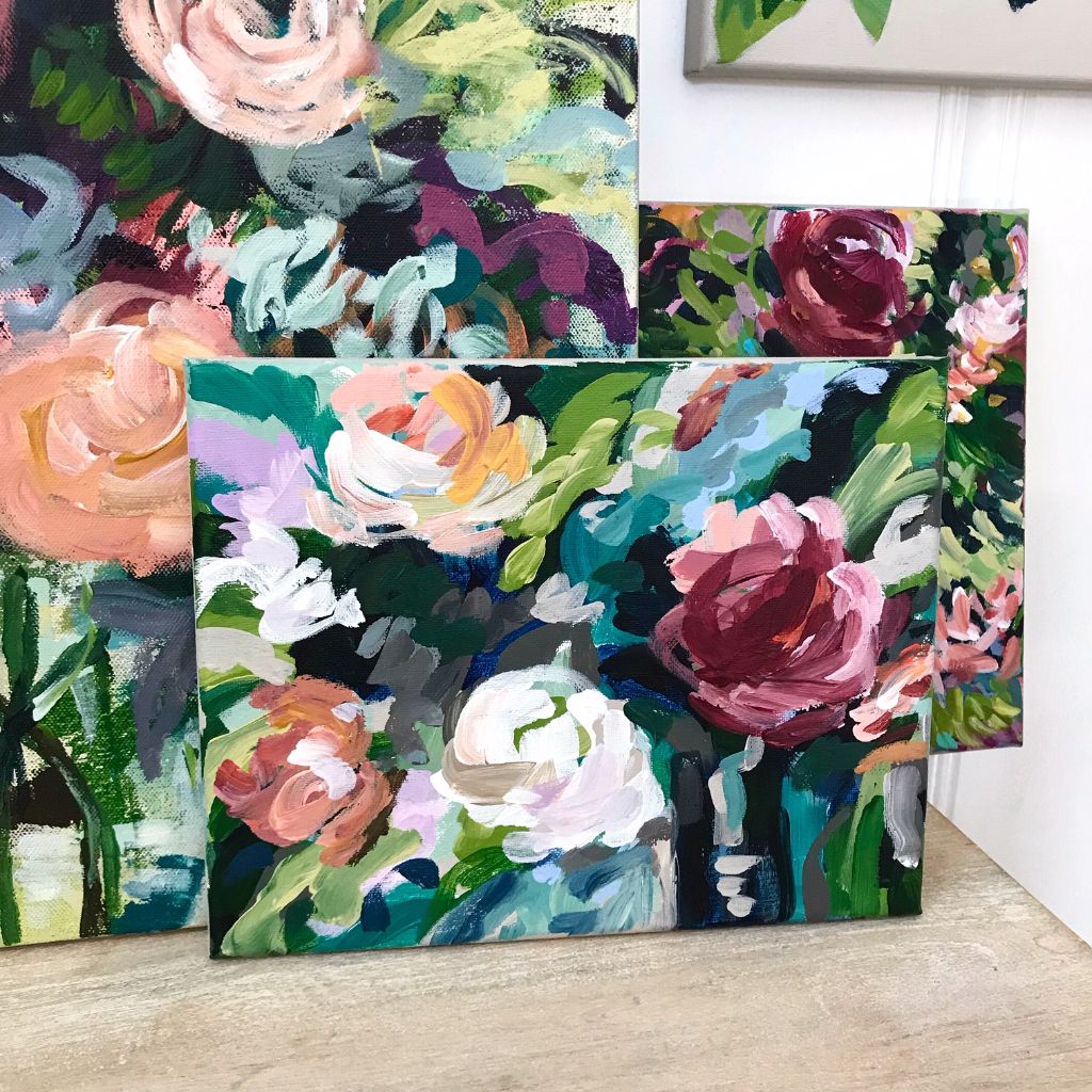 Elle Byers spring vibes artwork for sale.JPG