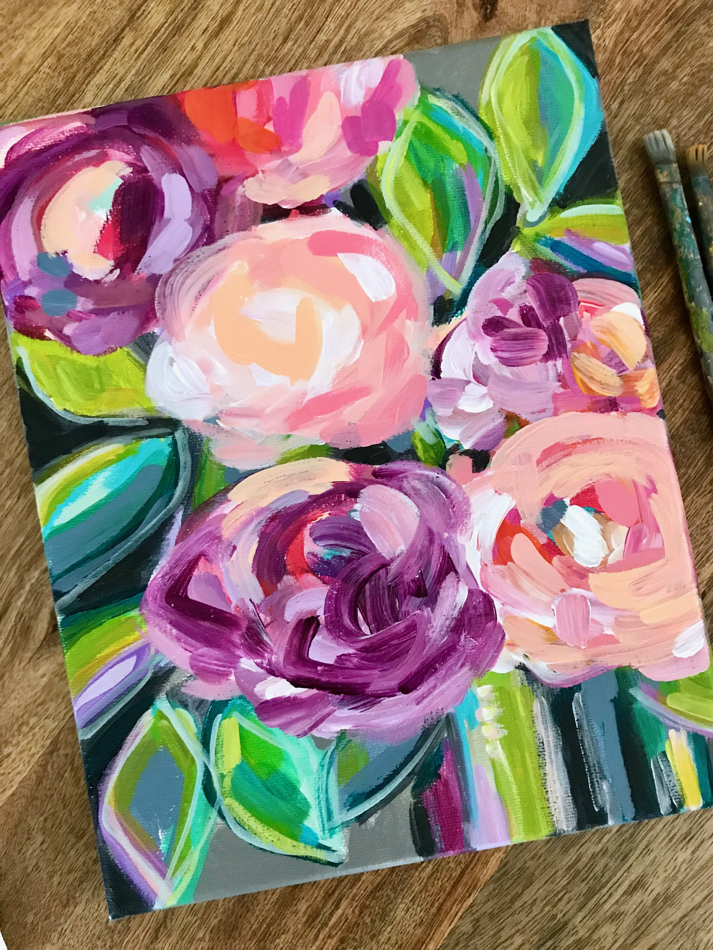 Elle Byers Abstract Flowers how to paint 23.JPG