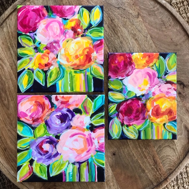Elle Byers Abstract Flowers how to paint .JPG