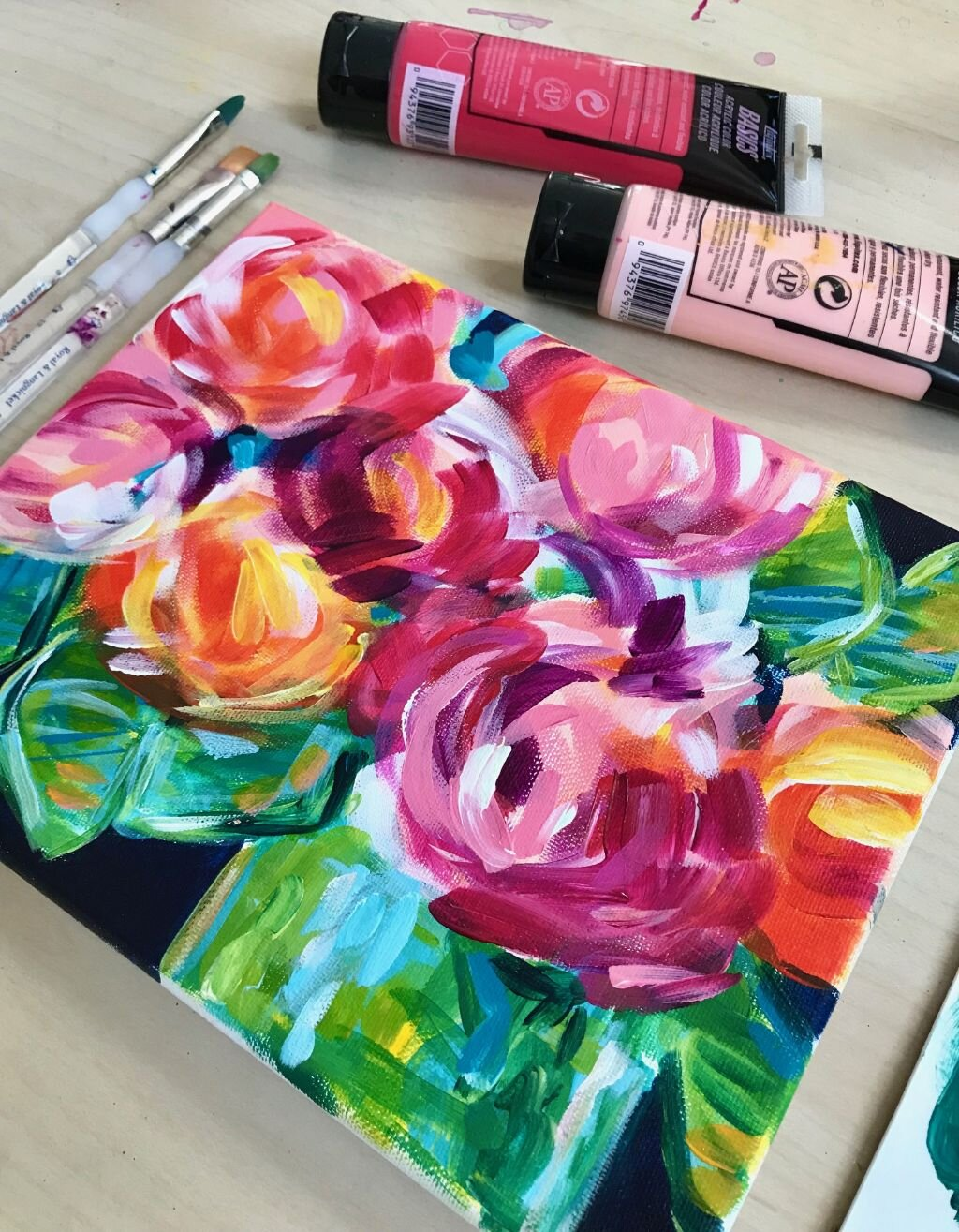 Best Tips and Techniques for Painting Abstract Flowers!
