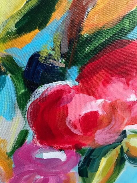 art classes \u2014 Ideas for painting easy abstract flowers on