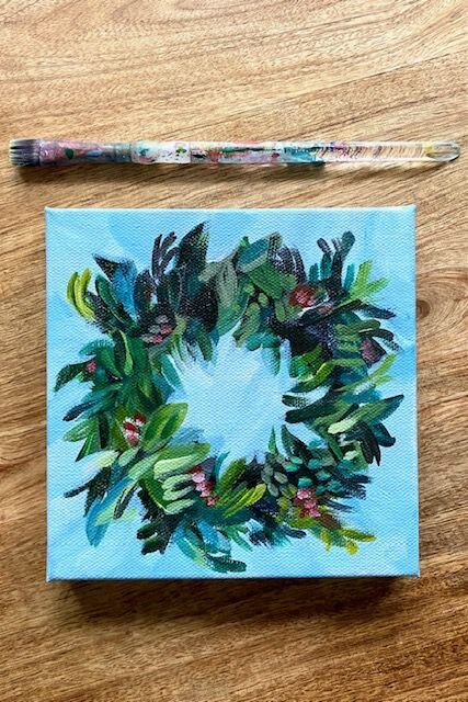 My Art Acrylic Painting Tutorials And Original Artwork By Elle Byers Learn How To Paint With Acrylics On Canvas