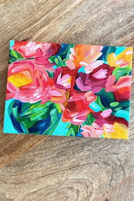 Acrylic Painting Tutorials And Original Artwork By Elle Byers Learn How To Paint With Acrylics On Canvas Art