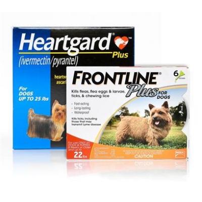 $50 Rebate - When you buy 12 doses of Heartgard and 12 doses of Frontline/Nexgard.