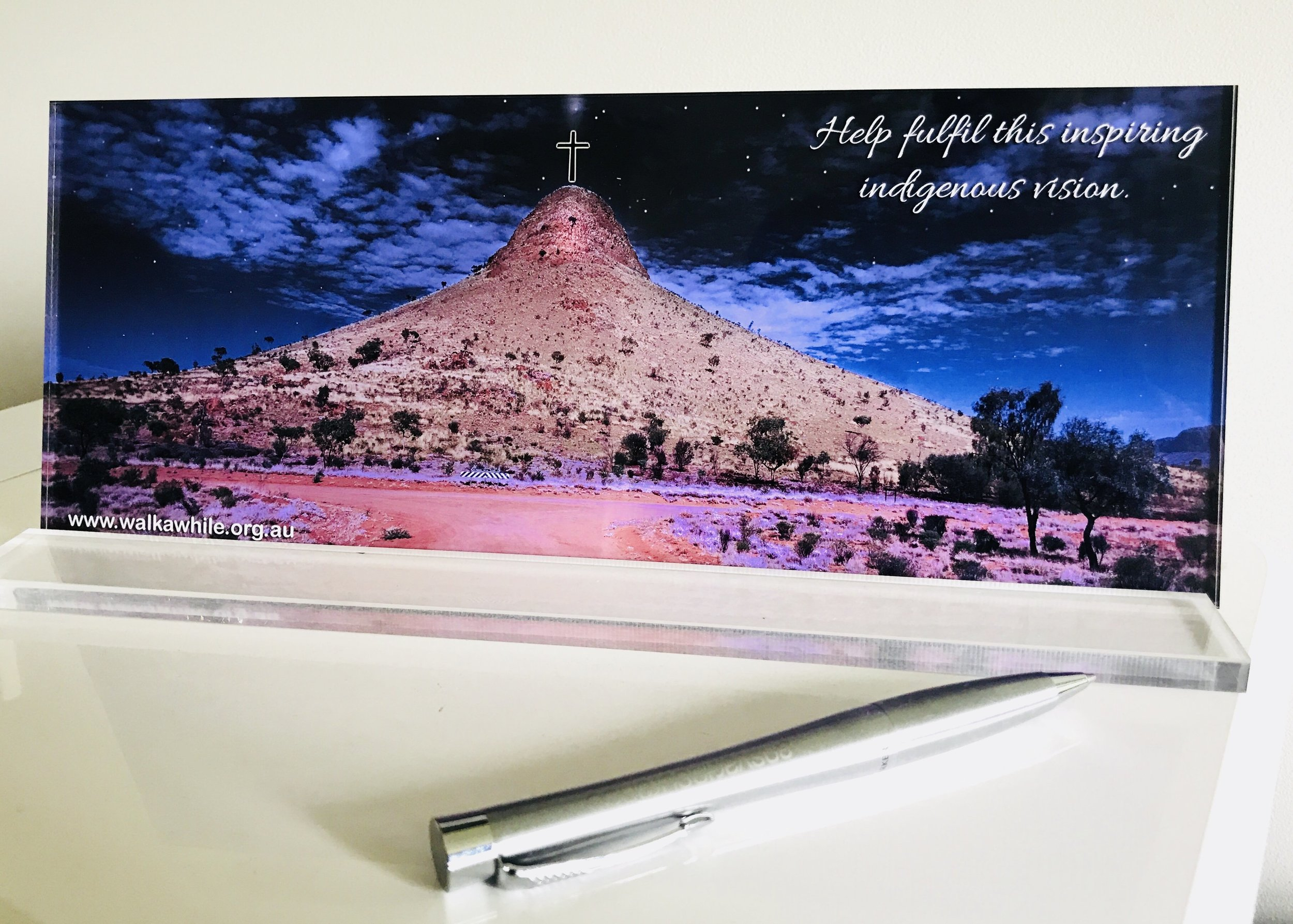 These are so good for any desk top and great reminder of this inspiring project ...