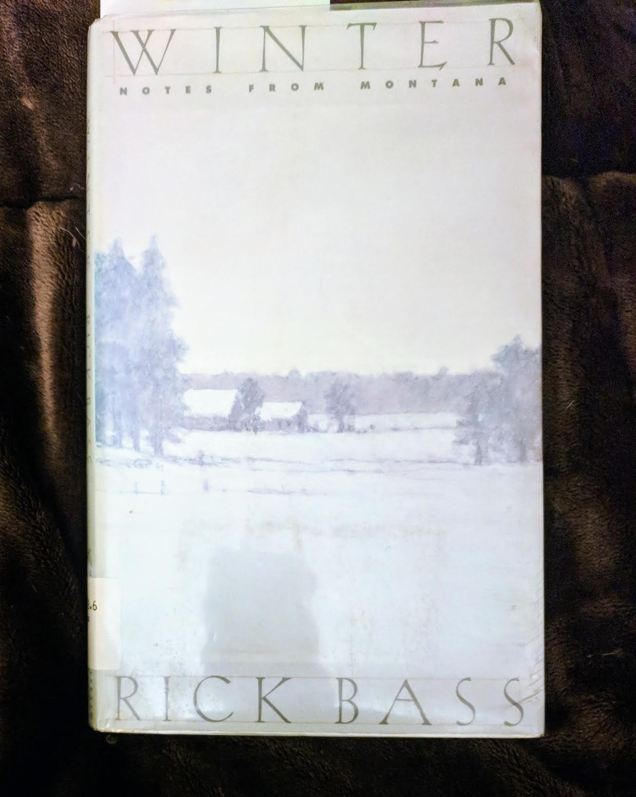 Rick BassWinter - Might be the most beautiful book I've read since Annie Dillard's An American Childhoodor maybe since Waldenor Essays Of E.B. Whiteor pretty much any other great book I can think of in which a person tells their story.