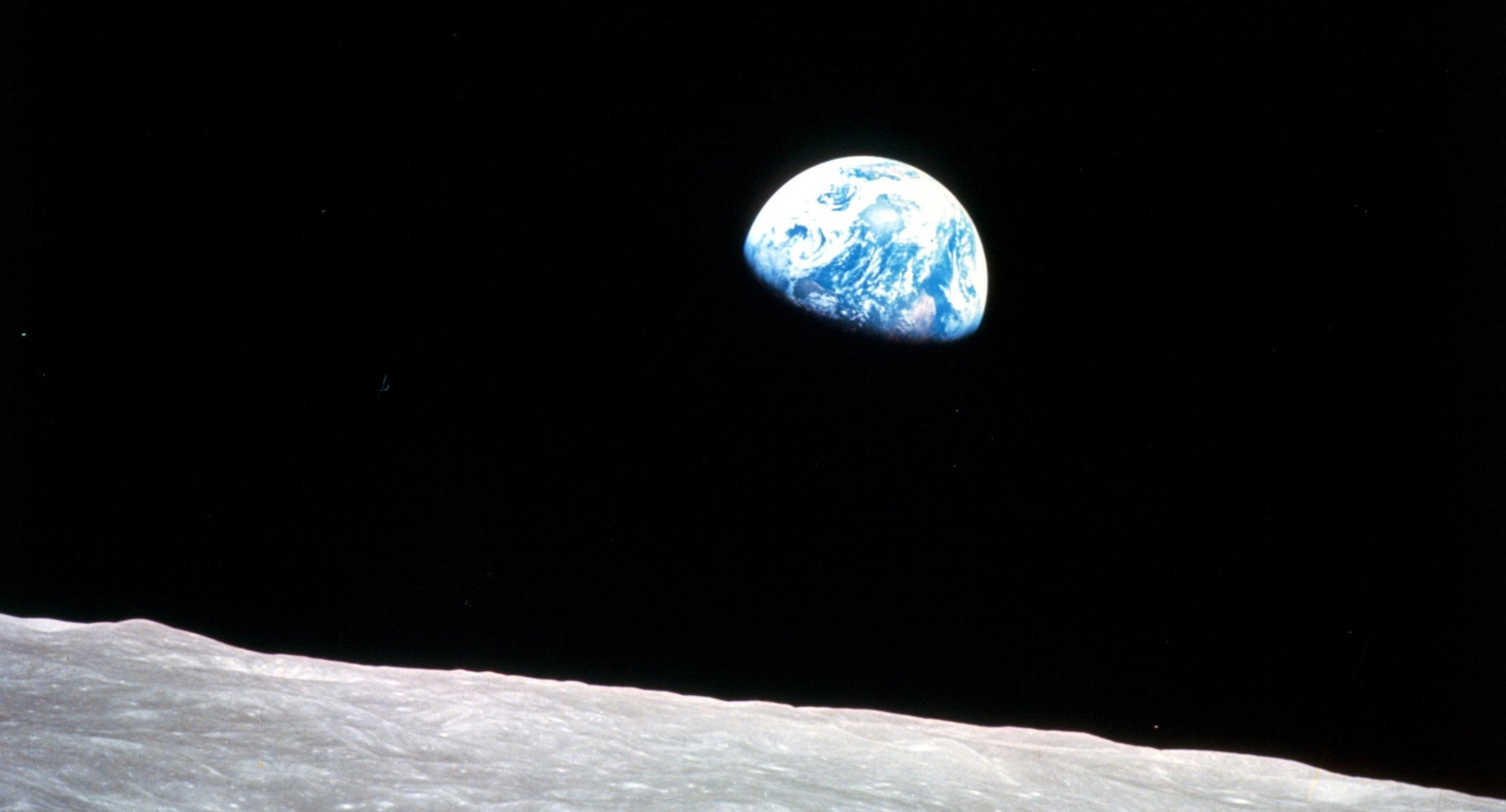 Earthrise, Apollo 8, December 24, 1968