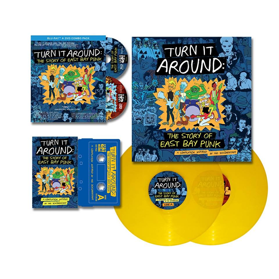 Turn It Around: The Story of East Bay Punk - The soundtrack of an epic documentary on the explosion of one of America's largest punk scenes of all time, centered right in the California East Bay Area. Second Line Vinyl pressed the 35-track double vinyl soundtrack.