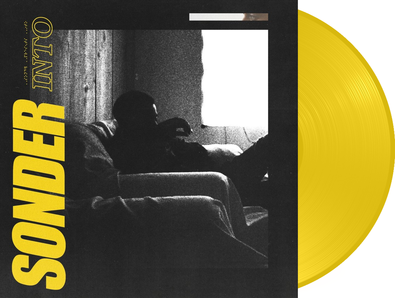 Sonder - Into is the collaborative effort of producers Atu And Dpat, along with singer Brent Faiyaz. This first pressing on yellow vinyl was limited to only 500 copies exclusively via record subscription platform VNYL.