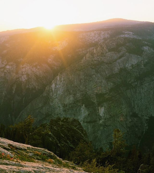 Two thing on my mind today, 1. I want to be in Yosemite. 2. I'm In desperate need of a quesadilla today.