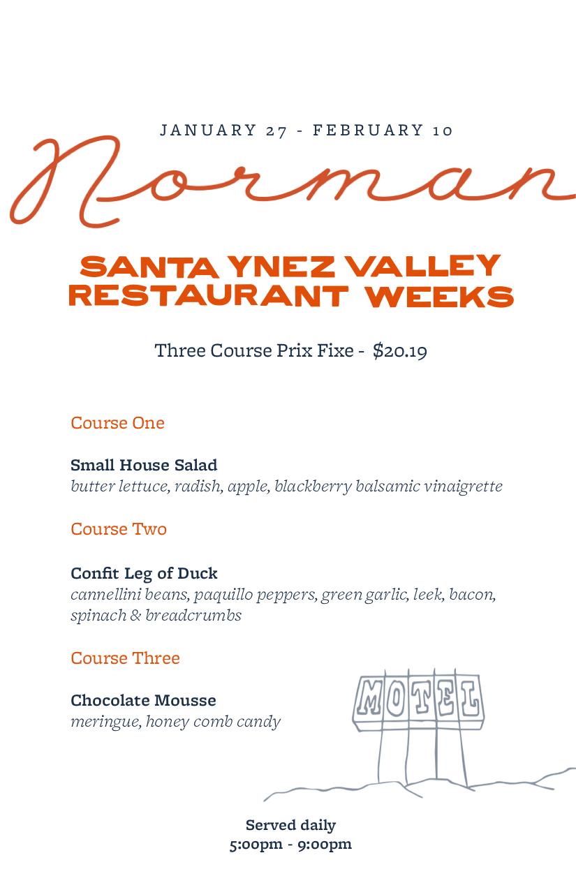 Norman Restaurant Month