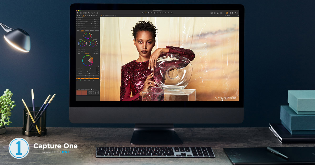 Capture One Editorial Color Grading Styles -