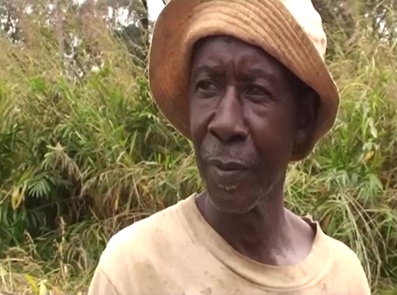 Kalebwe Mwenga Insaji, Katangese charcoal worker interviewed in Carolle Maloba wa Maloba's documentary film, Makala (2014)